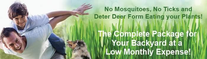 No Mosquitoes, No Ticks